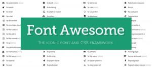 Font Awesome WordPress Theme
